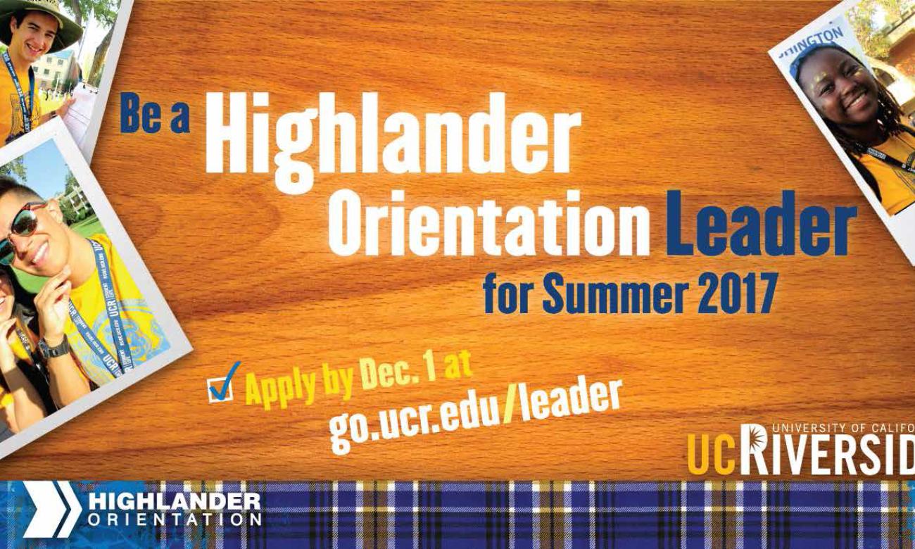 Ucr orientation dates in Brisbane