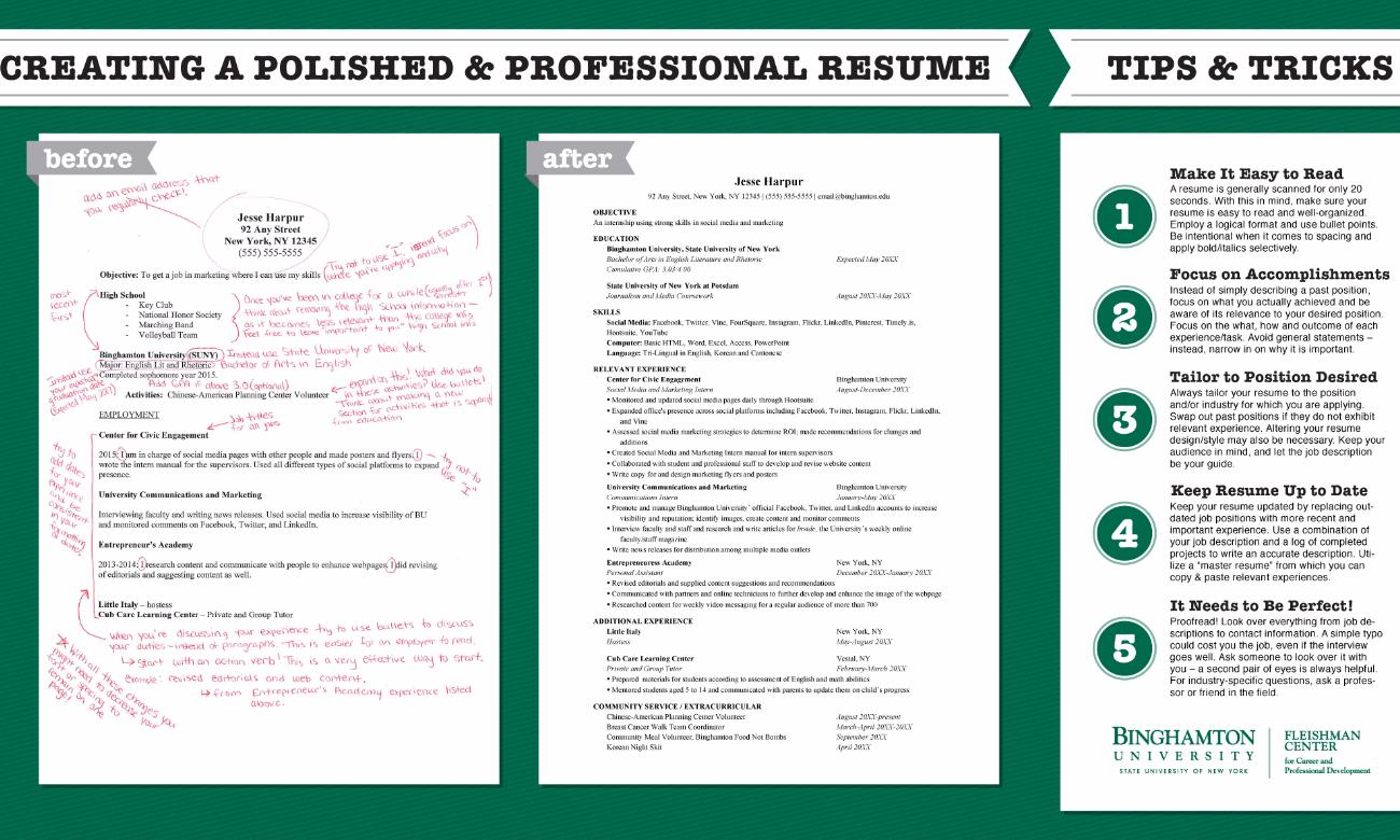 my resume critique