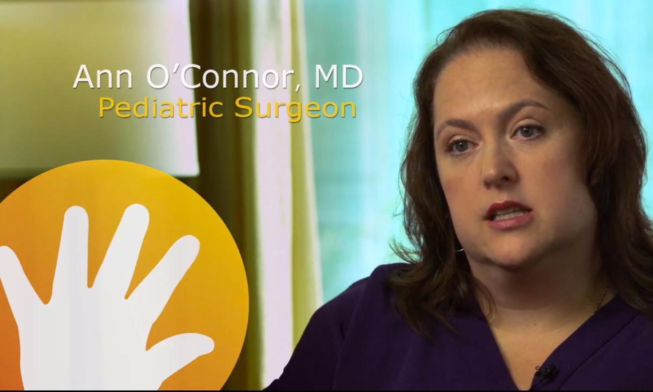 Dr. Ann O'Connor - Pediatric Surgeon Lunch Talk