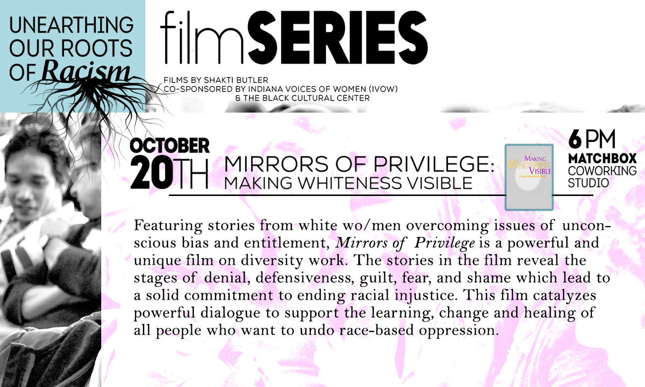 mirrors of privilege making whiteness visible the film West seattle meaningful movies held a film screening of mirrors of privilege: making whiteness  mirrors of privilege: making whiteness visible and  blog.
