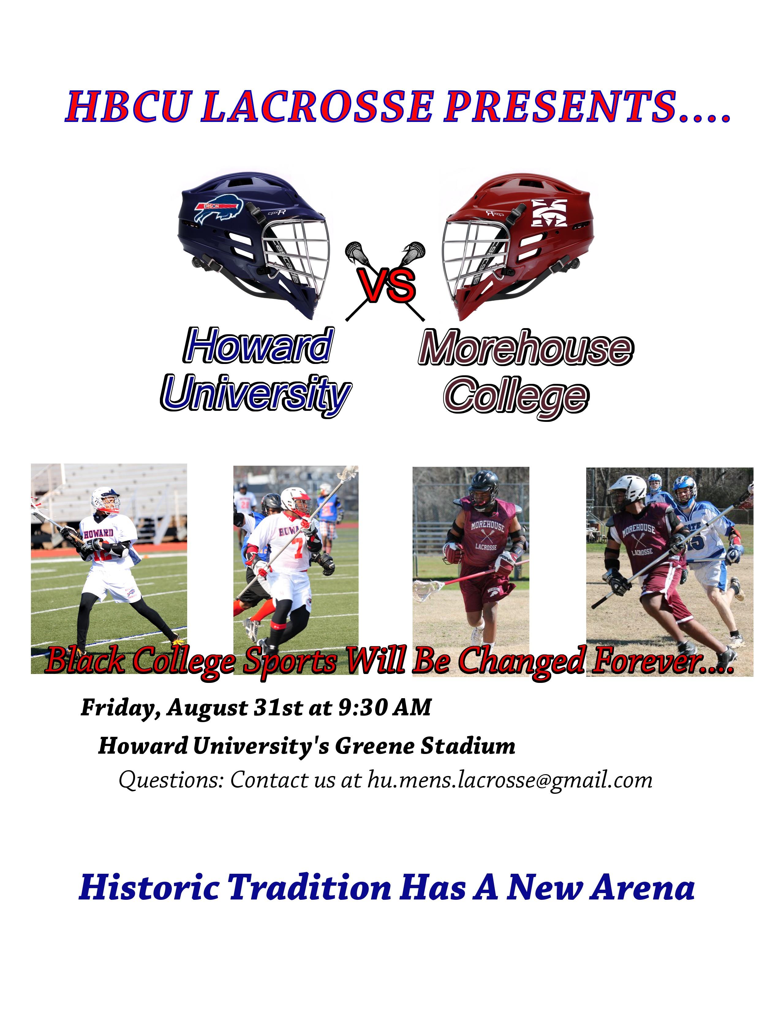 Howard Lacrosse vs Morehouse College