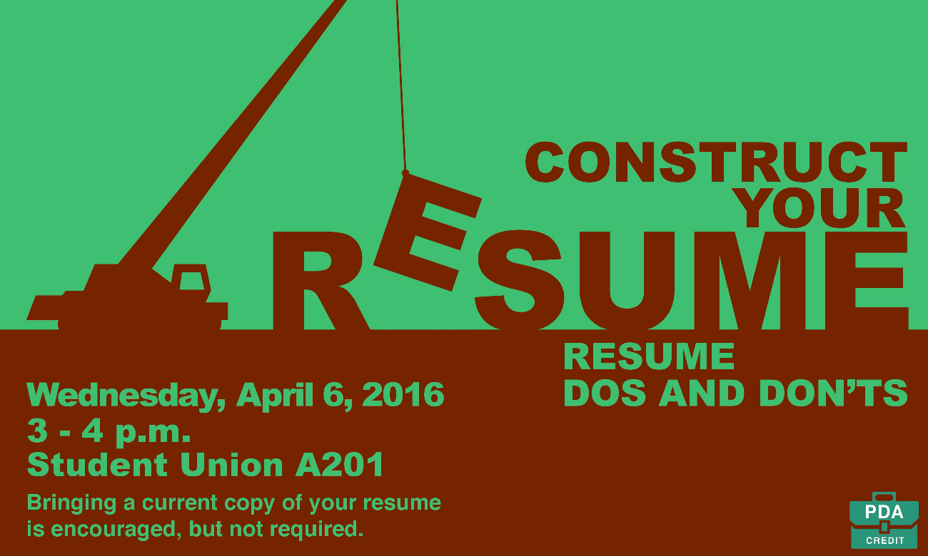 construct your resume dos and don ts