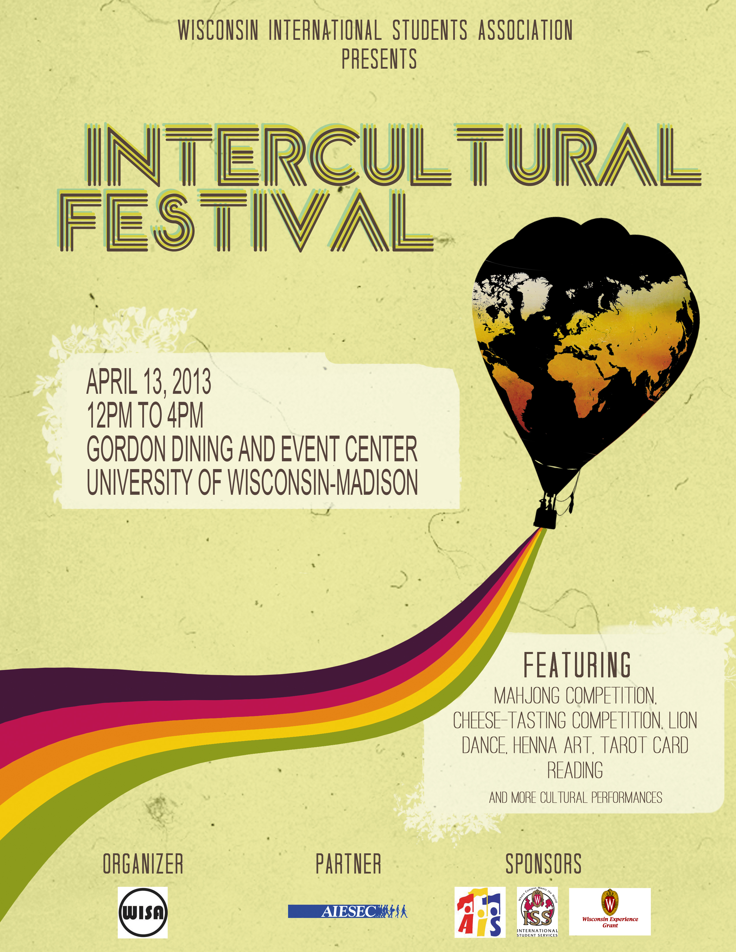 Invitation To Intercultural Festival (ICF)  Formal Invitation Letter For Event