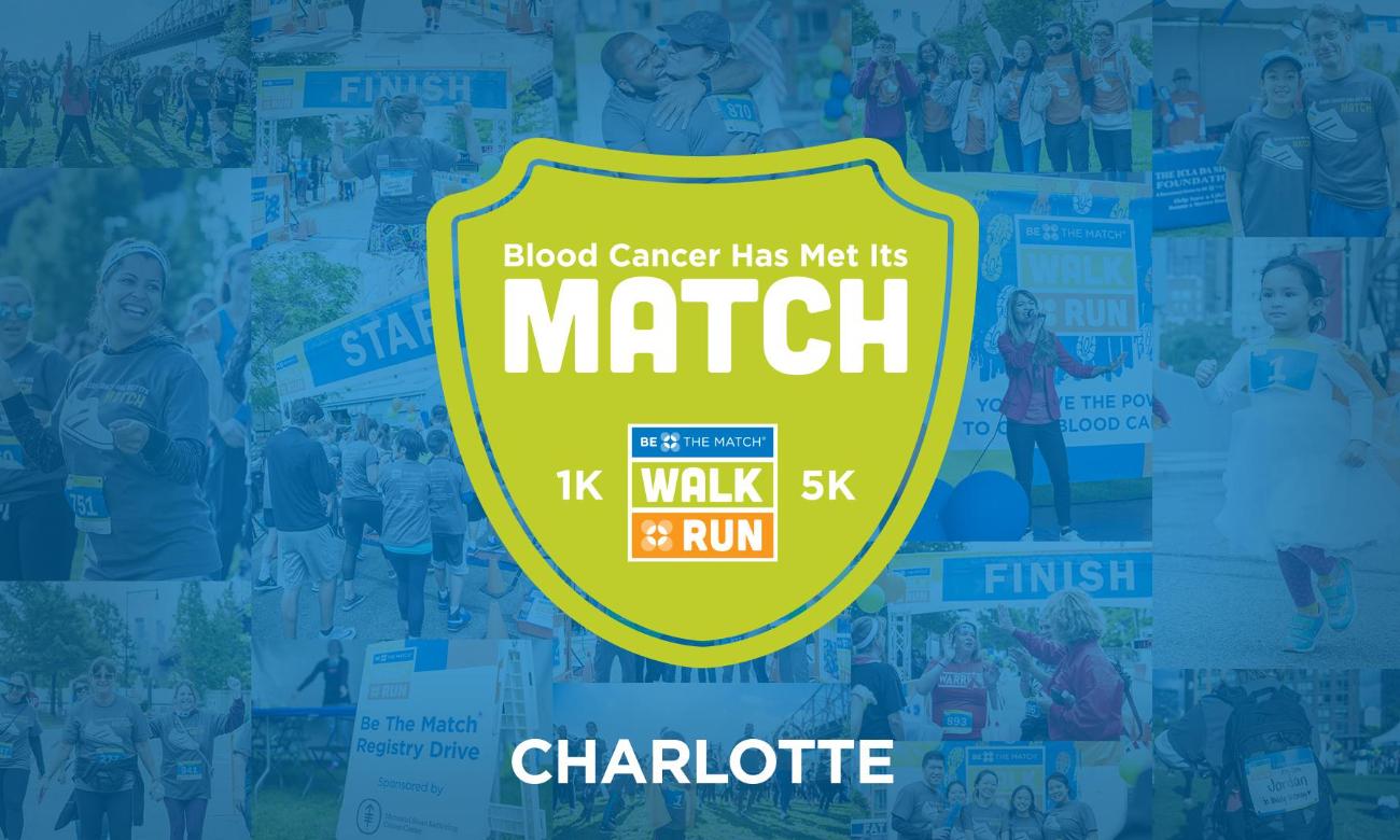 Be the match 5k charlotte