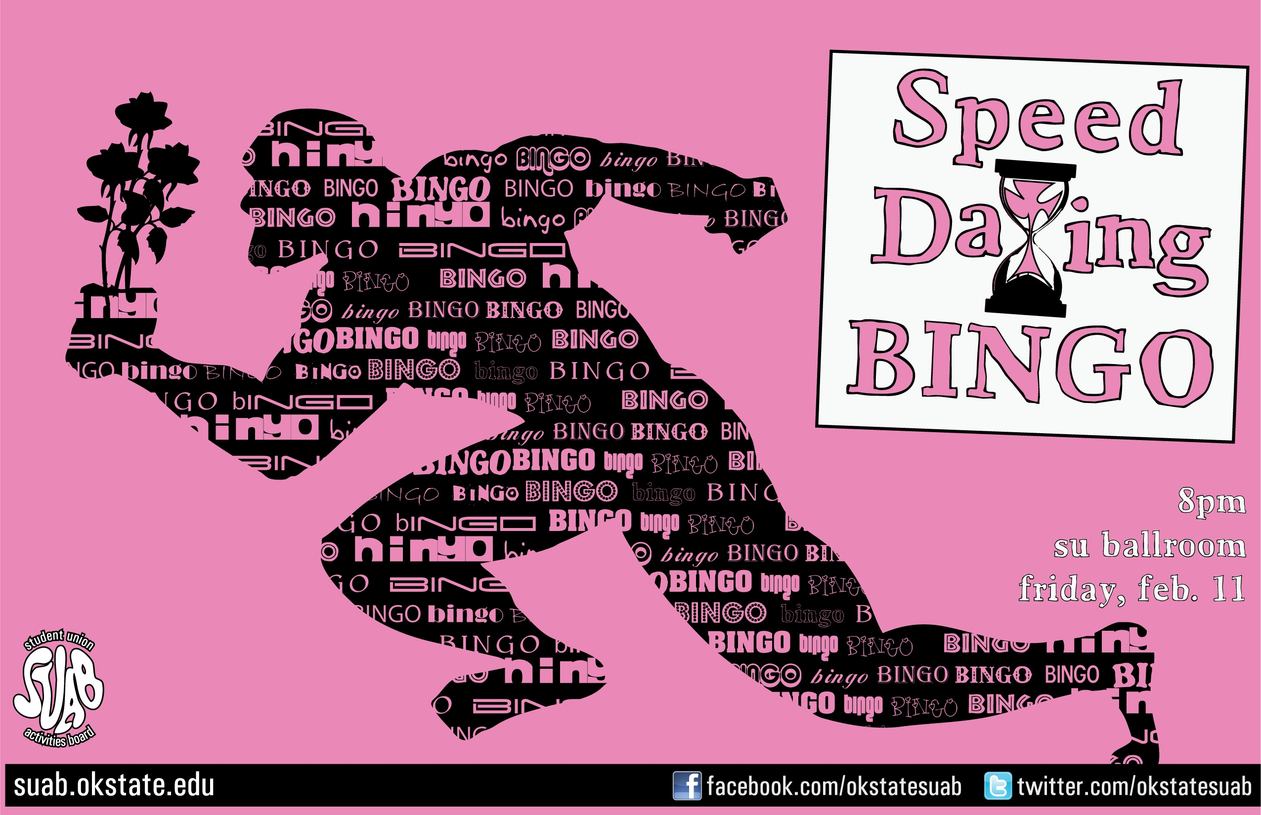 Speed dating bingo