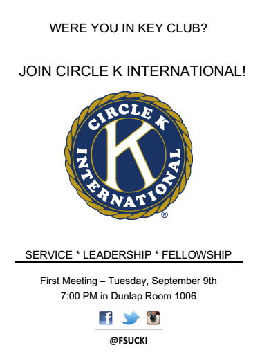 Circle K International Meeting