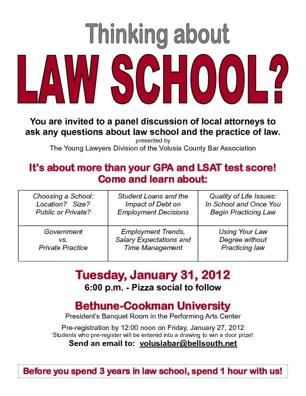 Questions about law school?