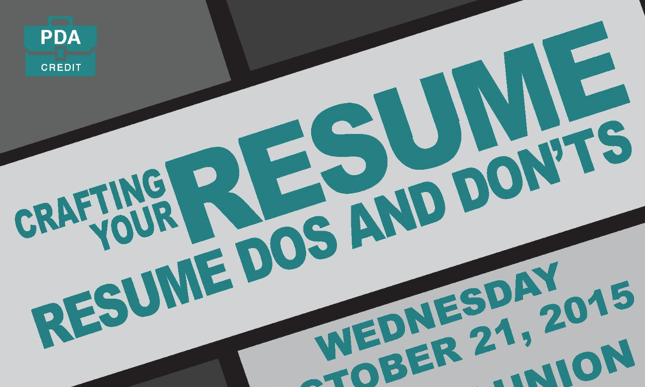 crafting your resume resume dos and don ts