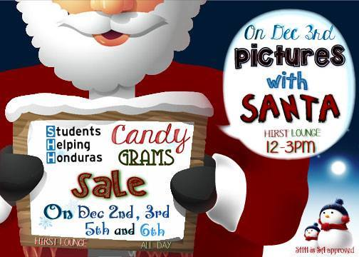 Candy Grams Sale and Pictures w/ Santa - Campus Community Connection